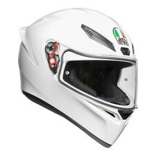 AGV 200281A4I0-001 HELMET FULL FACE K1 K-1 SOLID WHITE XL