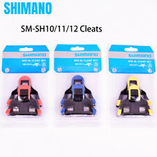 Shimano SPD-SL SM-SH10/11/12 Cleats Set 2/6 degree Float Road Bike Pedal US New