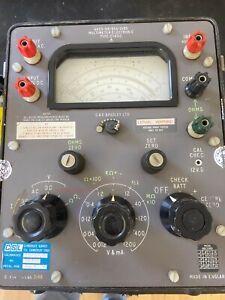 Vintage G&E Bradley CT471 Multimeter (B3)