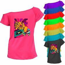Womans I Love The 80s Hen Festival Fancy Dress Clothes Fashion T-Shirt 6021759®