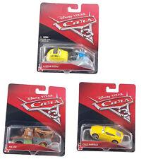 Disney Pixar Cars 3 Die Cast Lot Of 3 Cruz Ramirez  Mater luigi & Guido 1:55