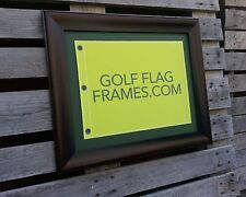 16 x 20 Brown Flag Frame, brn-003, holds 13x17 Masters Golf Flags; Flag not Incl