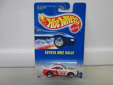 Hot Wheels Toyota MR2 Rally White No 233 - 3 Spk