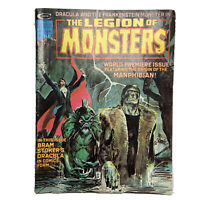 The Legion of Monsters #1 Curtis Comic Magazine 1975 1st App. Manphibian Dracula