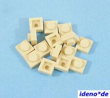 LEGO STAR WARS ARCHITECTURE CONSTRUCTION 15 pièces plaque 1 x 1 tan 3024 beige