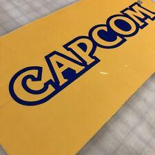 Capcom Logo Side Art Set Arcade Game - Premium 3M Film