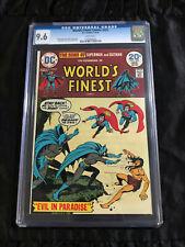 DC 1974 World's Finest Comics #222 CGC 9.6 NM+ Sons of Superman and Batman