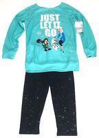 Wreck It Ralph 2 Breaks the Internet Girls Outfit Elsa Olaf Size 5  / 6 Frozen