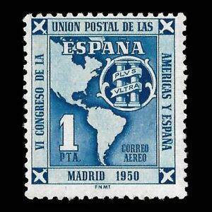 1951.VI Congreso Unión Postal.1p.MNH.Edifil 1091