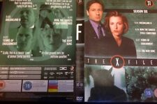 THE X-FILES SEASON 6 (SIX) SERIES 6:05-6:08 (REGION 2+4 DVD 2007)