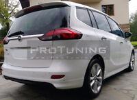 Zafira C MK3 12-18 REAR ROOF SPOILER OPC Look boot trunk Wing Door Cover Trim