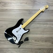 Rock Band Fender Stratocaster Xbox 360 Guitar Controller NO USB BREAKAWAY CABLE
