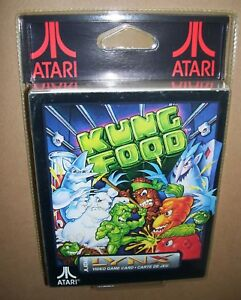 Atari Lynx game console cartridge Kung Food NEW SEALED BOXED BLISTER pack PA2076