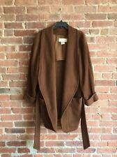 Vintage Claude Montana Women's Wool Coat Sz 38 IT US 4 Robe Style