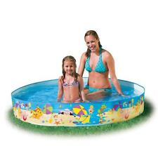 "New Intex Beach Days 5'x10"" Snapset Instant Kids Children's Vinyl Swimming Pool"
