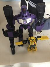 Transformers Animated Voyager G1 Repaint shockwave And Bumblebee