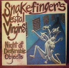 Snakefinger's Vestal Virgins - Night of Desirable Objects (LP 1986 Ralph RR8703)