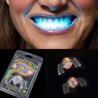 Blinkende Led Auf SeltsameWeise Mund Spange Leuchten Zähne Für Halloween.S Q1Y1