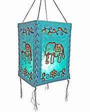 abat-jour, éléphant, lokta papier, lumière de papier lampe Lampion à suspension