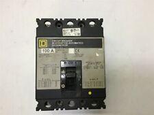 Square D Fal36100 Circuit Breaker 100A 600V 250V