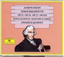 Haydn: Quartetti Per Archi Op 71, 74, 77, 103 / Amadeus Quartet - CD