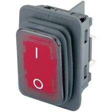 Marquardt 1935.3112 IP65 Rocker Switch Illuminated Red DPST Off-On 250 V AC 20