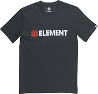 ELEMENT MENS T SHIRT.NEW BLAZIN GREY COTTON SHORT SLEEVED SKATER TOP TEE 8W 6 51