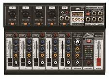 Audio2000'S Amx7362 Six-Channel Audio Mixer with Usb 5V Power Supply Usb Inte.