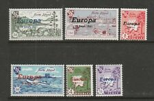 Herm island 1961 & 1962 Europa, 2 sets UM/MNH