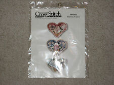 New Better Homes & G Cross Stitch & Country Crafts Kit 054791 Button Fancy 1995