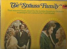 LONDON SYMPHONY ORCHESTRA DOUBLE ALBUM THE STRAUSS FAMILY A CIRCLE OF SOUND