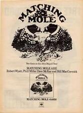 Matching Mole Robert Wyatt LP advert Time Out cutting 1972