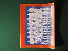 1974-75 UVa vs Kent State Basketball Program Dec 4,1974 Charlottesville VA