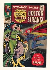 Strange Tales #150 Marvel Silver Age Off white pages NICK FURY/Dr. STRANGE