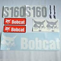 S160 decals S160 stickers bobcat Skid loader DECAL SET