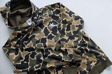 Adidas Originals Camo con capucha Sudadera con capucha M Suéter Verde Trébol