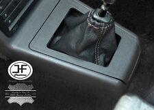 Manual De Puntada Gris Cuero Real Gear Polaina se adapta a Peugeot 205 & GTi