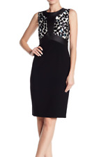 MAX MARA, Sheath Dress in Black, Size 12 US, 14 GB, 42 DE, 46 IT