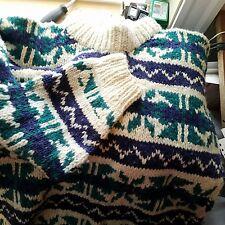 Sweater mens 100 % wool size L-XL