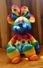 New listing New Disney Rainbow Collection Minnie Mouse Plush Pride Toy Doll 2020