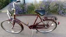 "Vintage Raleigh Superbe 23"" Frame, Stainless steel wheels. R nuts"
