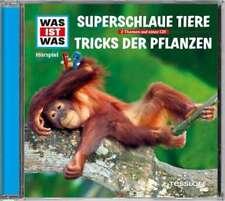 CD * WAS IST WAS - FOLGE 61 - SUPERSCHLAUE TIERE /TRICKS DER PFLANZEN # NEU OVP!