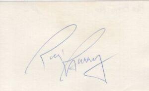 Rick Barry - NBA All-Star, Basketball Hall of Fame - Autographed 3x5 Card