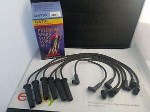 Spark Plug Wire Set Wells QW798 fits 93-94 Isuzu Pickup 3.1L-V6 NOS