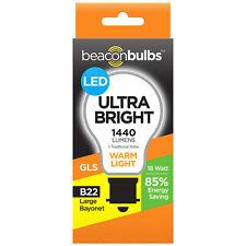 LED 18W 100W Equivalent Traditional Ceiling Light Bulb Lamp Warm White B22 Bayon