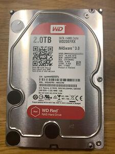 Western Digital Red HDD SATA 2TB, 5400RPM (WD20EFRX) 3,5Zoll