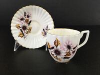 vintage Marlborough bone china cup & saucer made in England