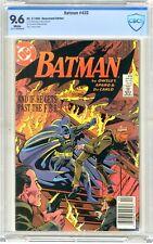 Batman  #432  CBCS   9.6   NM+  White pgs  3/87  1st App. Detective Sarah Essen.