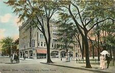 Boston MA~The Salvation Army~Peoples Palace for Workingmen~Victorian Ladies~1910