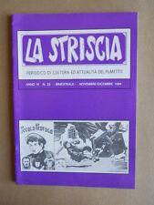 LA STRISCIA n°23 1984 CORTO MALTESE  -Fanzine fumetti di Mercuri  [G529] RARO!